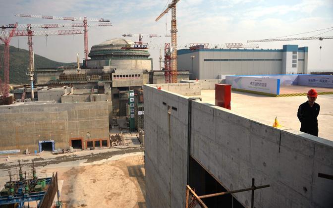 Tuumajaama ehitus Hiinas