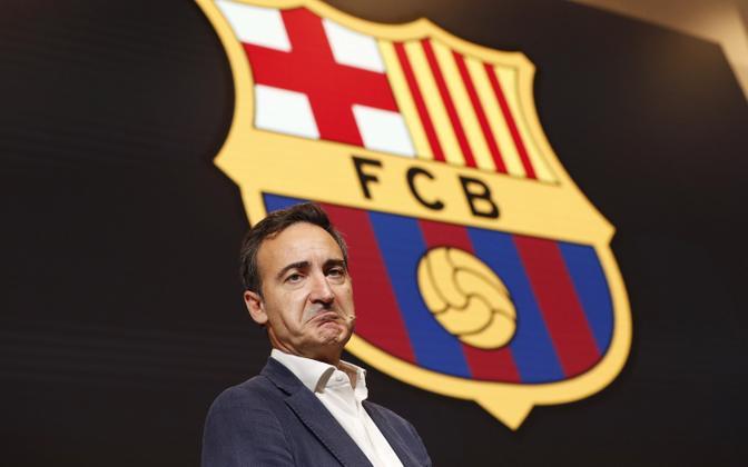 Barcelona tegevjuht Ferran Reverter