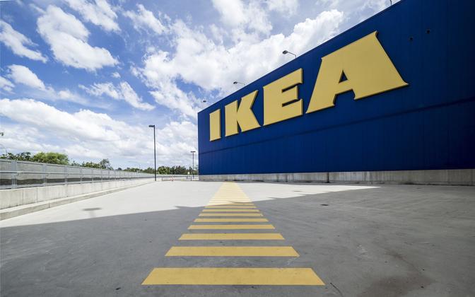 Магазин IKEA. Иллюстративная фотография.