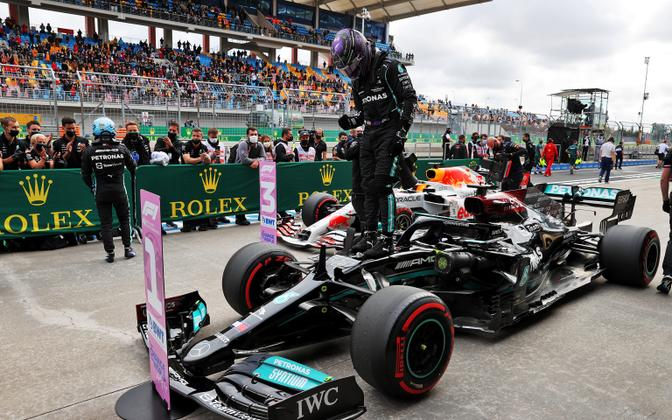 Lewis Hamilton Türgi GP-l