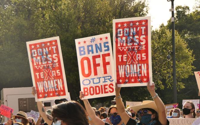 Abordikeelu vastane marss Texases.