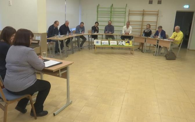Local elections debate in Palivere.