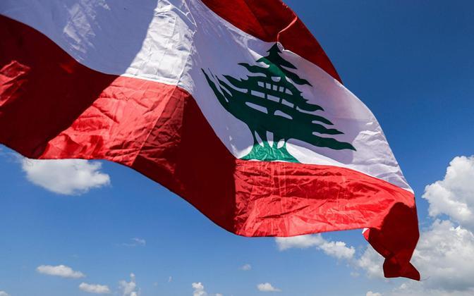 Флаг Ливана. Иллюстративное фото.