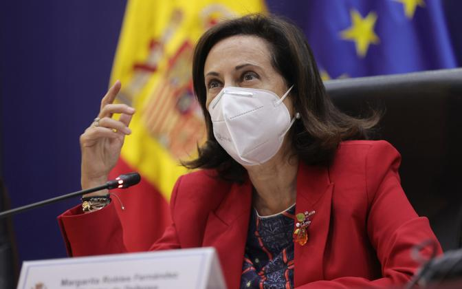 Hispaania kaitseminister Margarita Robles.