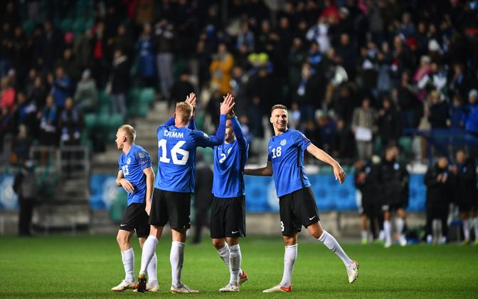 Футболисты сборной Эстонии попробуют дать бой фавориту.