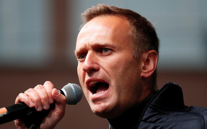 Vangistatud opositsioonijuht Aleksei Navalnõi