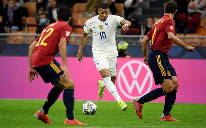 UEFA Rahvuste liiga finaal: Prantsusmaa ja Hispaania