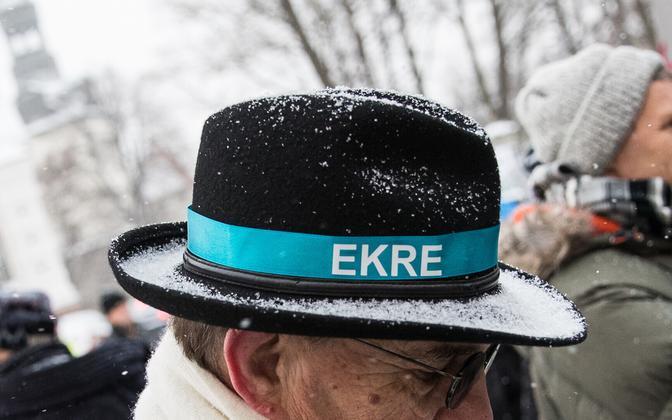 EKRE лидирует в рейтинге третью неделю подряд.