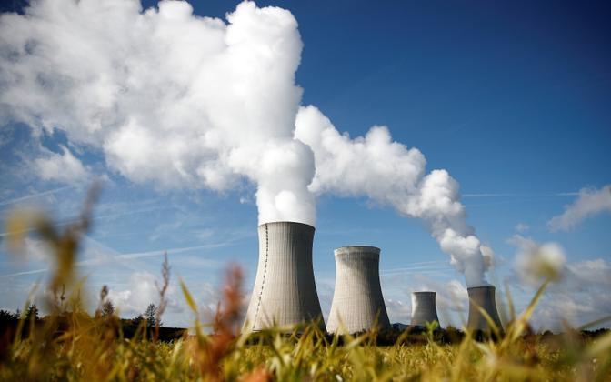 АЭС во Франции.