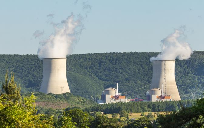 The Chooz Nuclear Power Plant in France.