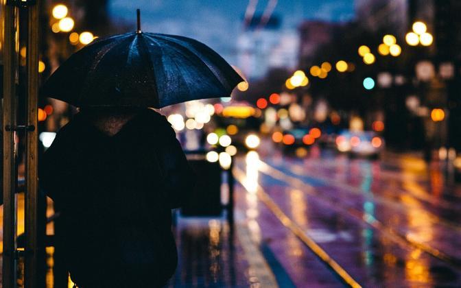 В среду возможен небольшой дождь.