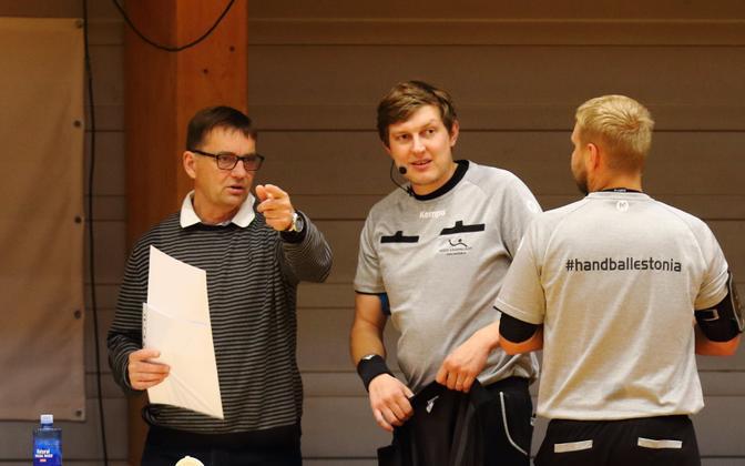 Kalev Ventsli (vasakul) toimetab Euroopas delegaadina juba 17. hooaega