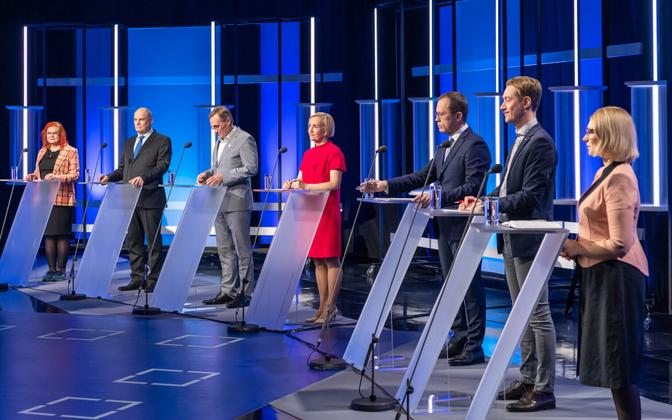 Tartu election debate on October 13, 2021.