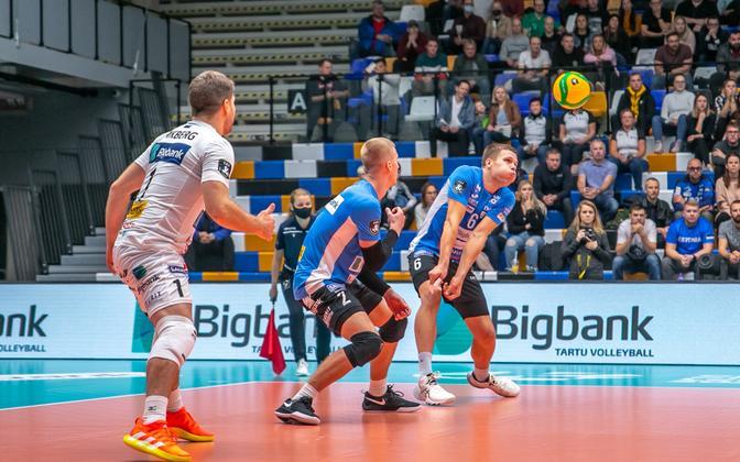 Volleyball Champions League: Tartu Bigbank - SL Benfica.
