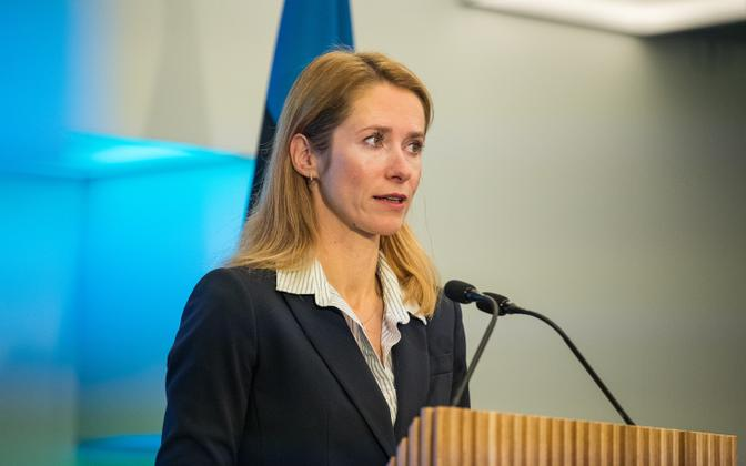 Премьер-министр, председатель Совета по науке и развитию Кая Каллас.