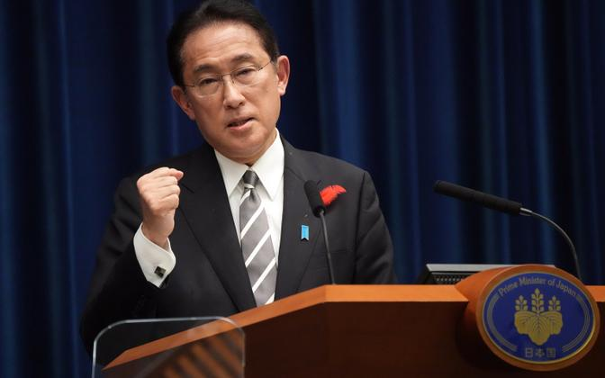 Jaapani peaminister Fumio Kishida